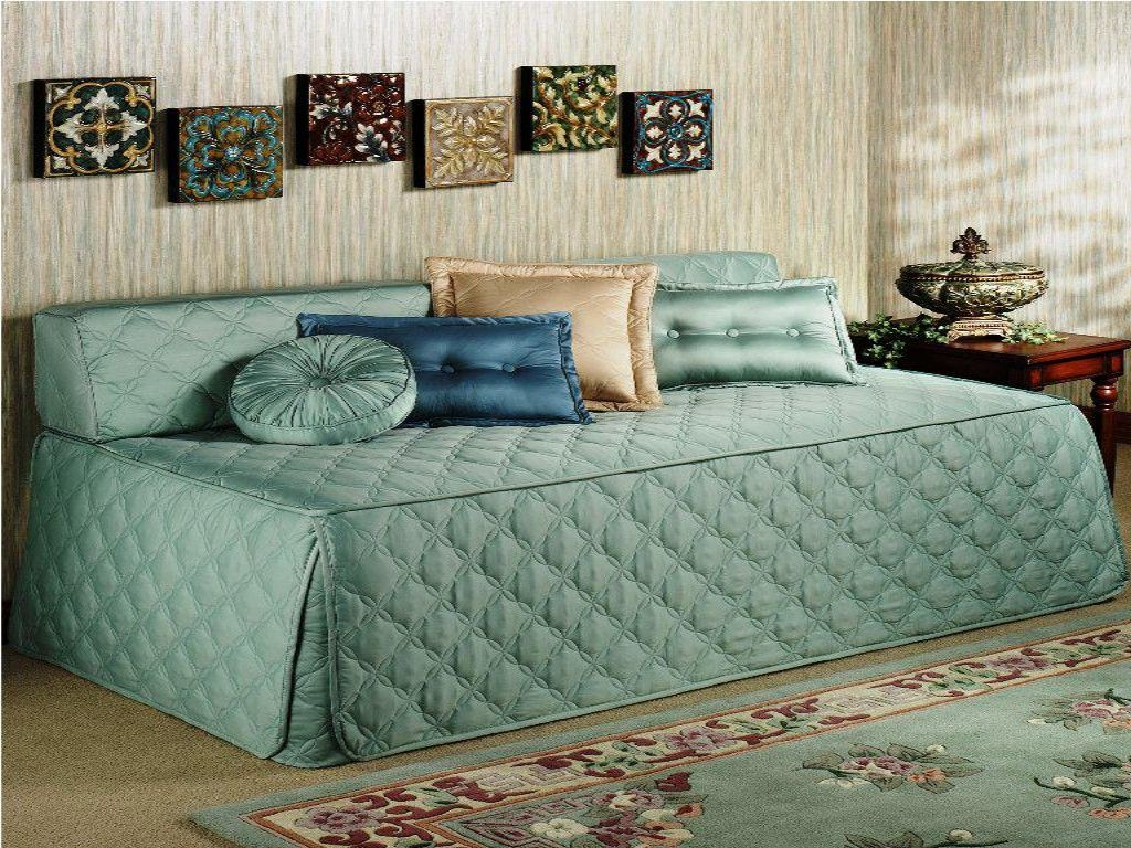 Queen Size Daybed Frame Decor — Bed Frame Ideas | Daybed ideas ...