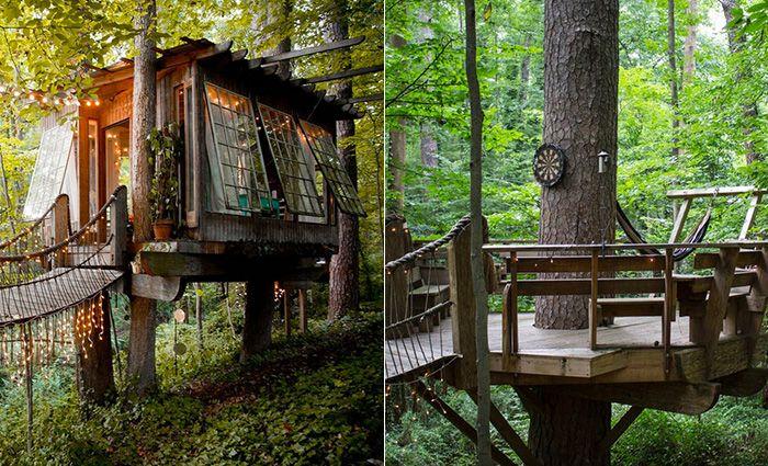 Five Southern Tree House Getaways Garden and Gun