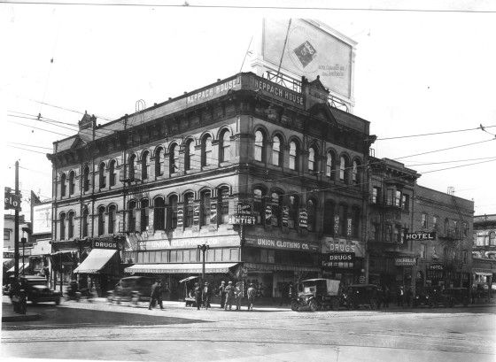 W Burnside And Nw 3rd Ave 1928 With Images Ferry Building San Francisco Portland Oregon Oregon