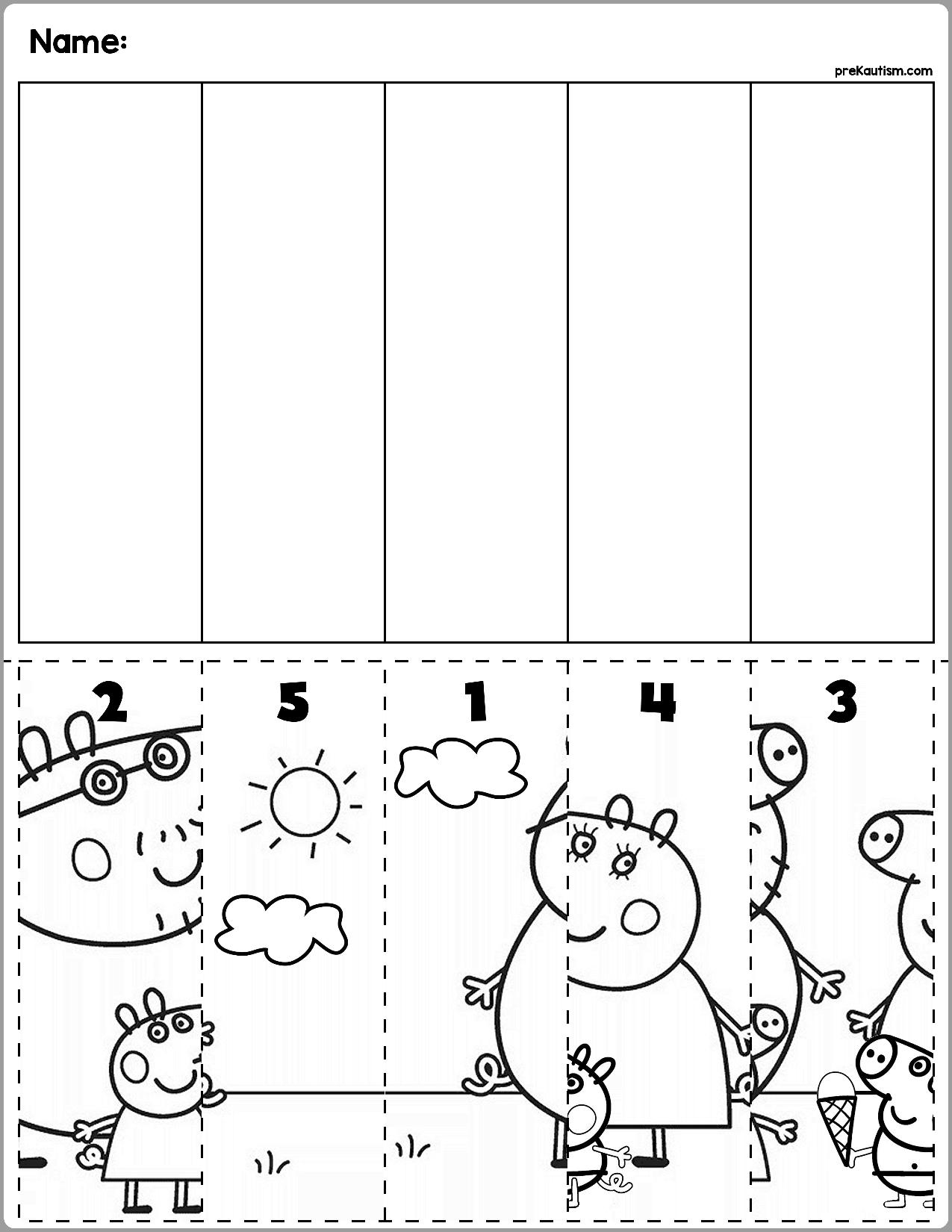Free Educational Materials Peppapig Preschool Peppa Pig N Atividades De Arte Para Criancas Atividades De Aprendizagem Para Criancas Atividades De Aprendizagem [ 1650 x 1275 Pixel ]