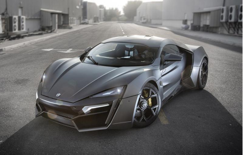 W Motors Lykan Hypersport :3,4 Millions $
