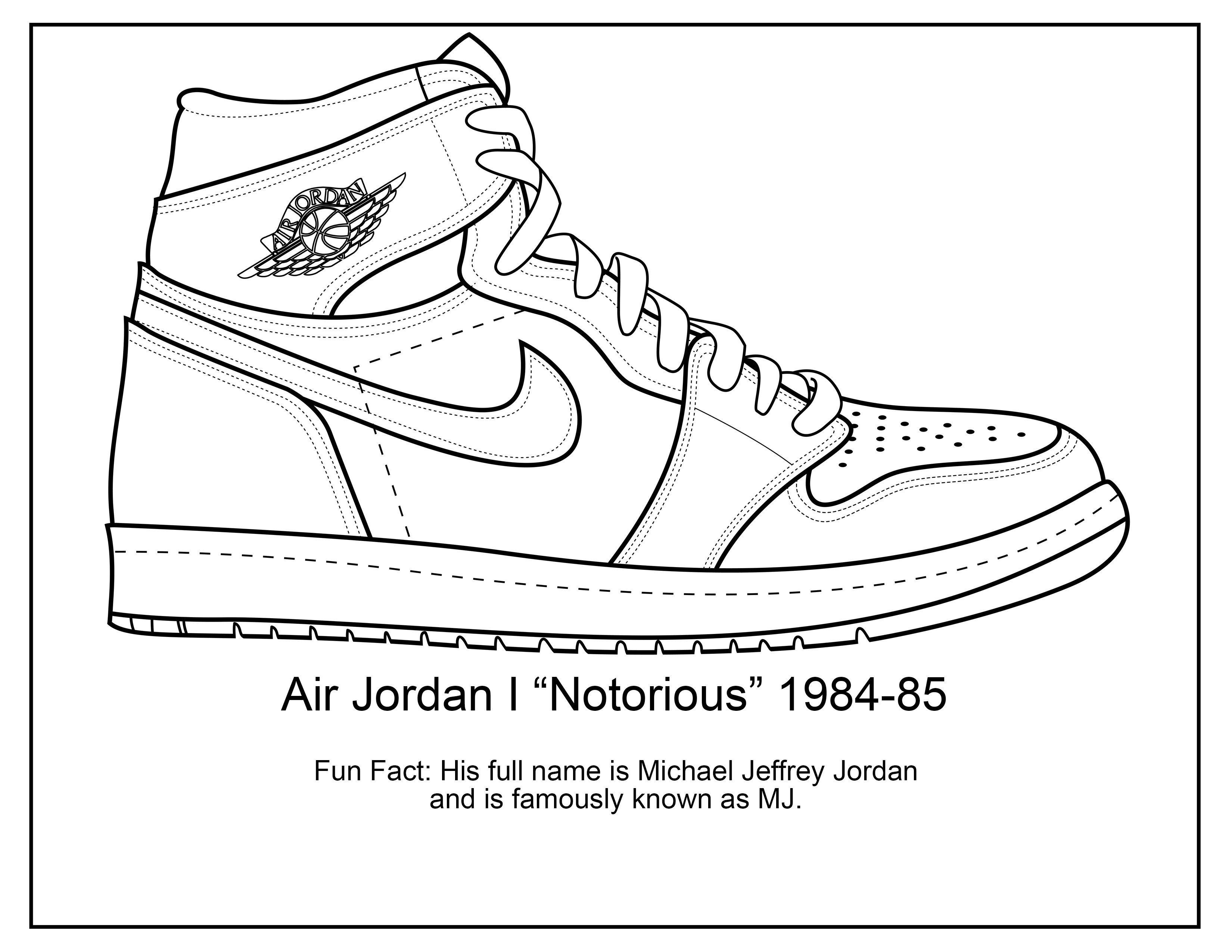 Jordan Shoe Coloring Book New Coloring Tremendous Jordan Coloring Pages Picture Ideas Dibujo Zapatillas Zapatos Dibujos Diseno De Calzado