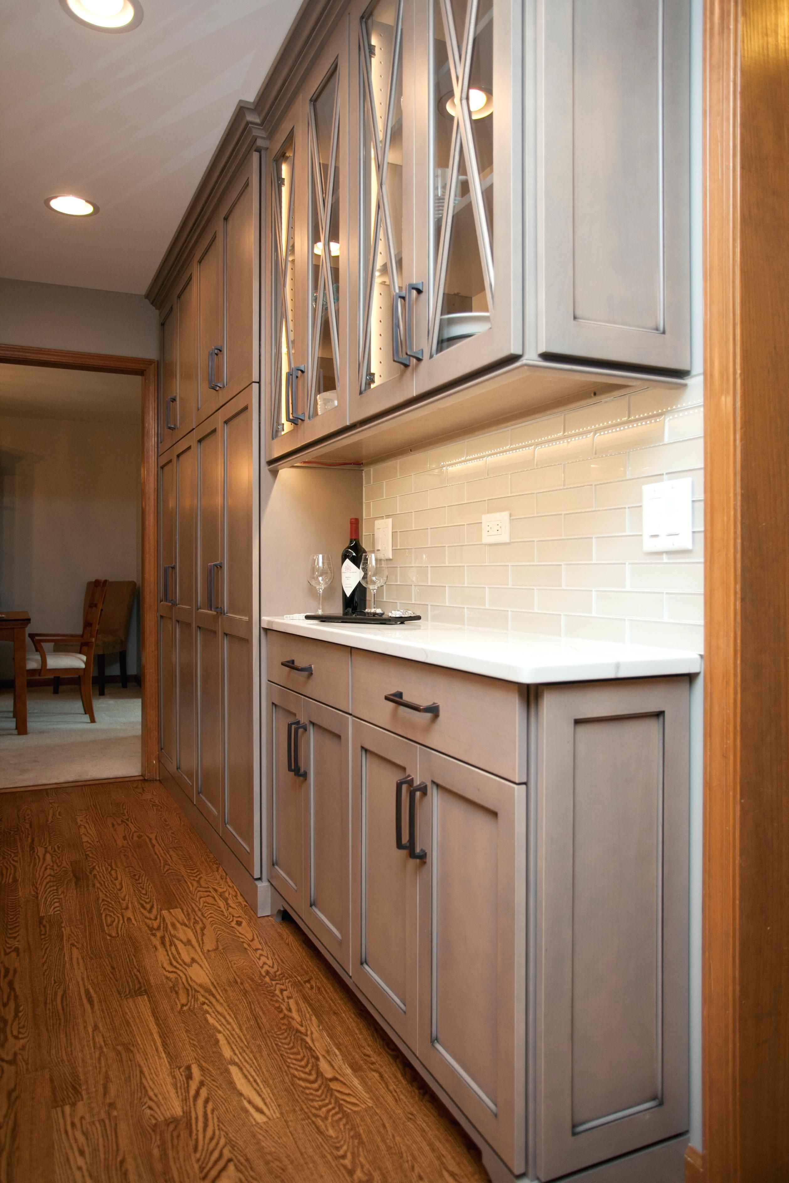 "you might want to go with slimmer cabinet units, e.g, around 15"" or lower."