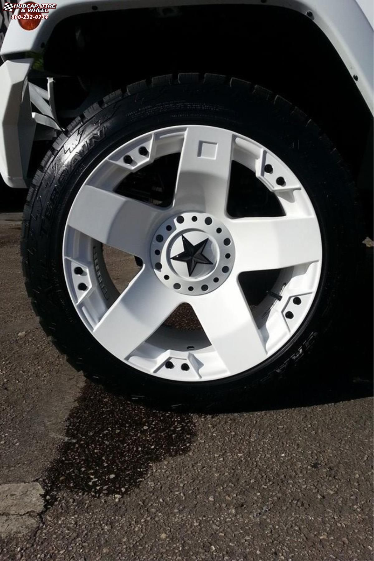Jeep Wrangler Xd Series Xd775 Rockstar X White Wheels And Rims