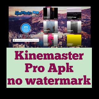Kinemaster Pro Apk No Watermark KineMaster Mod Apk