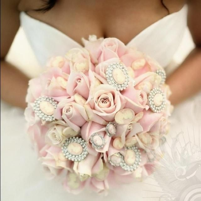 I Enjoy The Jewels In This Wedding Bouquet