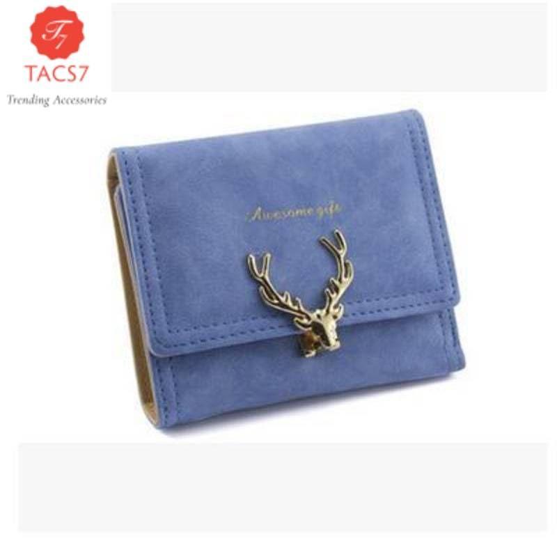 Deer Women Leather Wallet