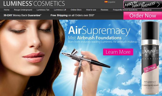 Luminess Air Reviews Airbrush Makeup System Airbrush