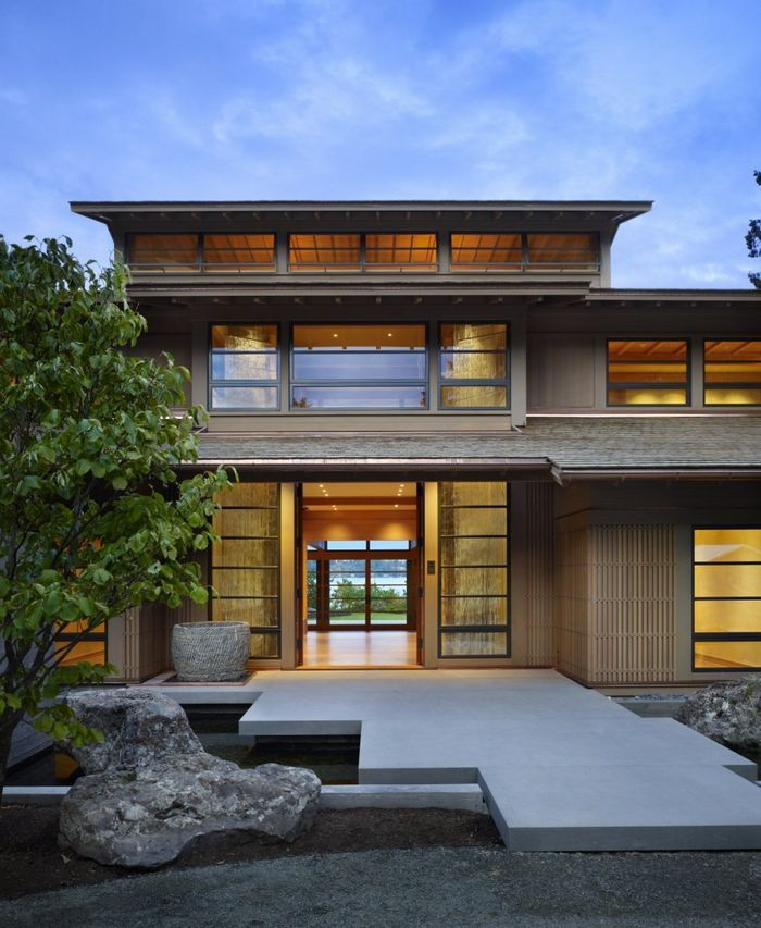 Astonishing Villa Design Inspired By Japanese Architecture Engawa