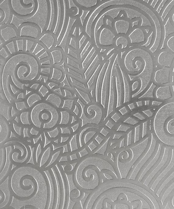 Patterned Aluminum Sheet Paisley Garden 2 X Etsy In 2020 Aluminium Sheet Aluminum Sheets Pattern