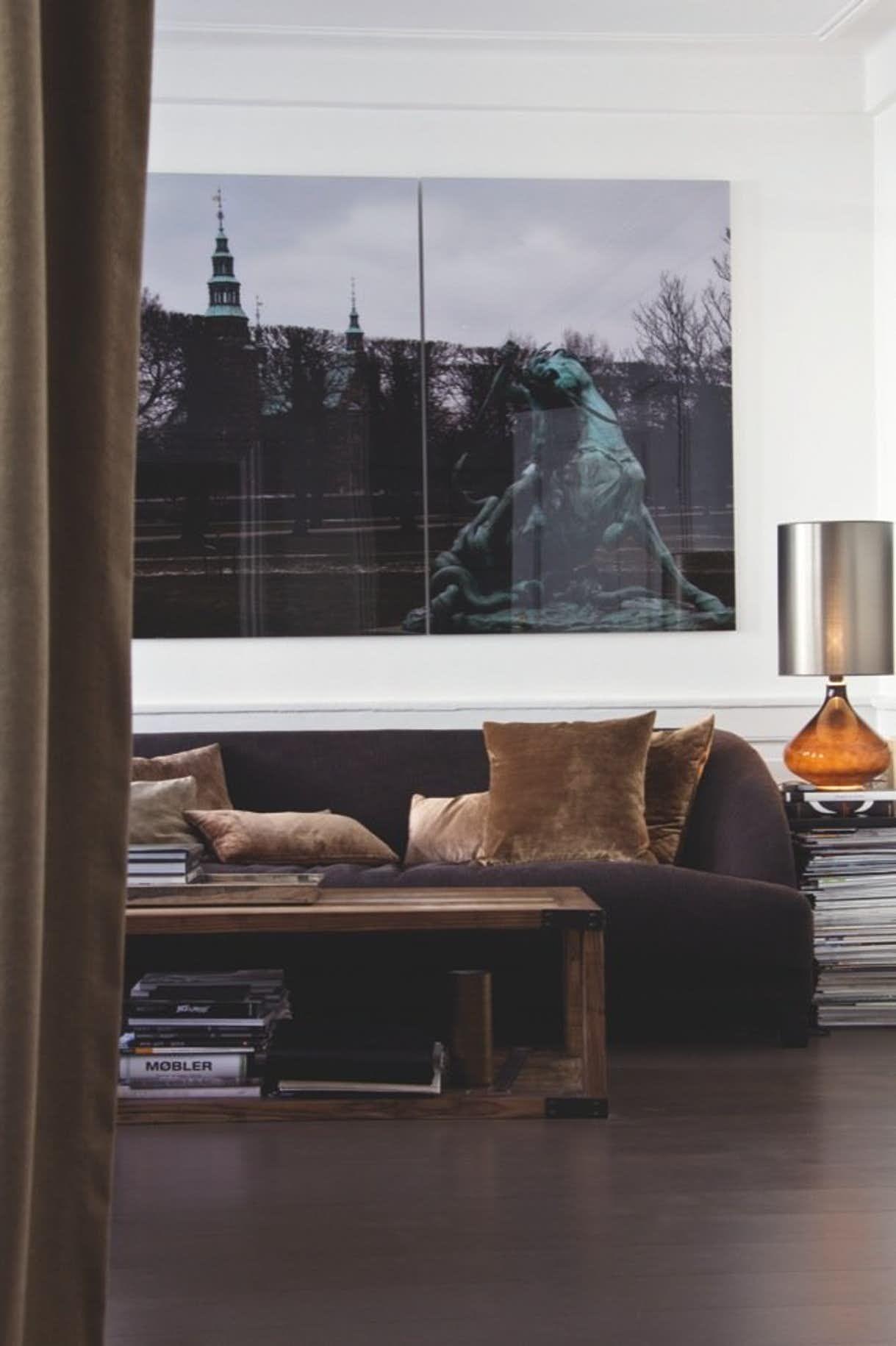 Dekadent ungkarlehybel | Interiørarkitektur, Husdesign, Vægge