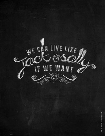 Jack And Sally Blink 182 Lyric Project Cool Drawings