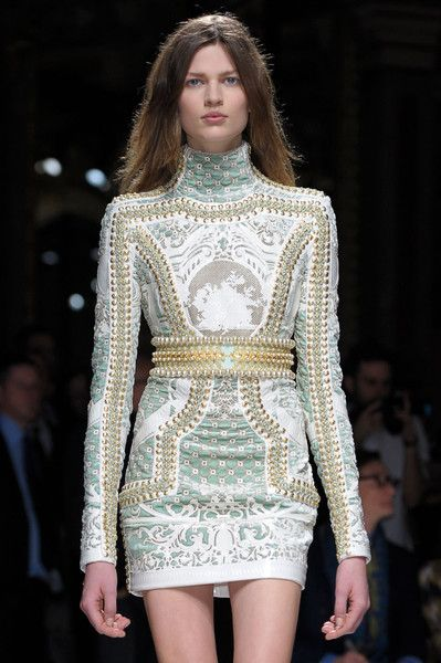 c0dd4021 Balmain Paris Fall 2012 -- obvi only in my wildest (and skinniest) dreams