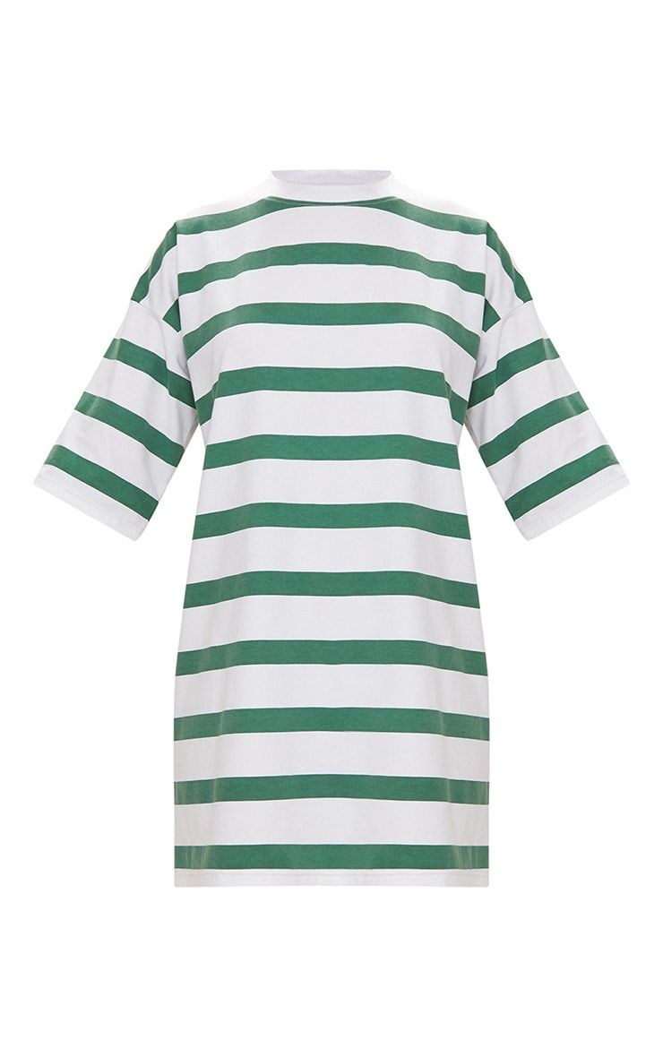 f5ad0d31cddb Camel Striped Oversized Boyfriend T Shirt DressWe are loving t-shirt dresses  this season and this.