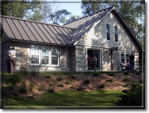 Stonewood Wayne Higgins Roof Architecture Cordwood Homes Modern Roofing