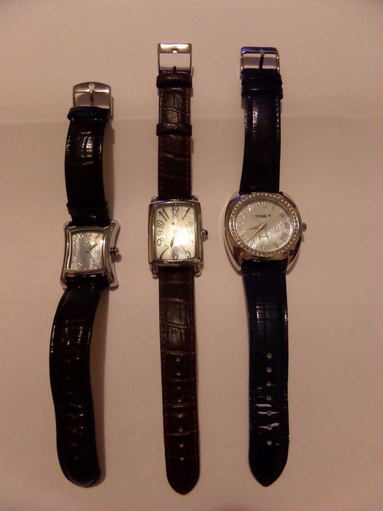 3 Lot 2 Nice Pastorelli Watches Gossip Watches Womens Watches Gossip