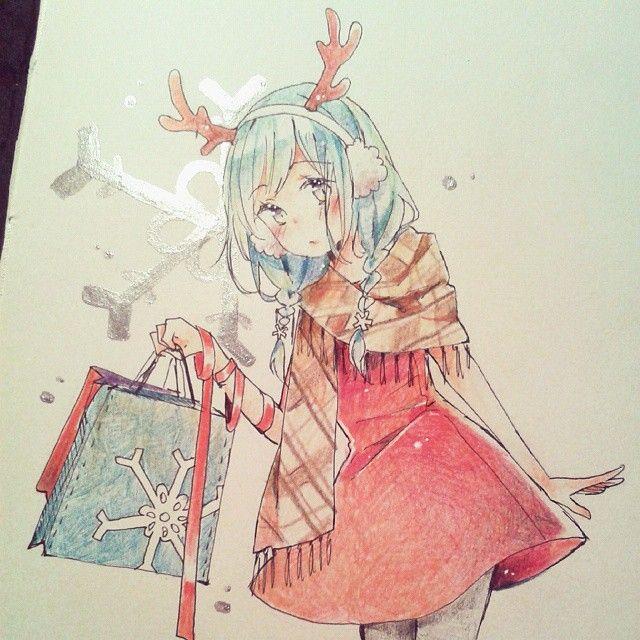 4 284 Likes 41 Comments Yenko Store Open Yenkoes On Instagram Xmas Shopping In 2020 Kawaii Art Cute Drawings Of People Anime Art