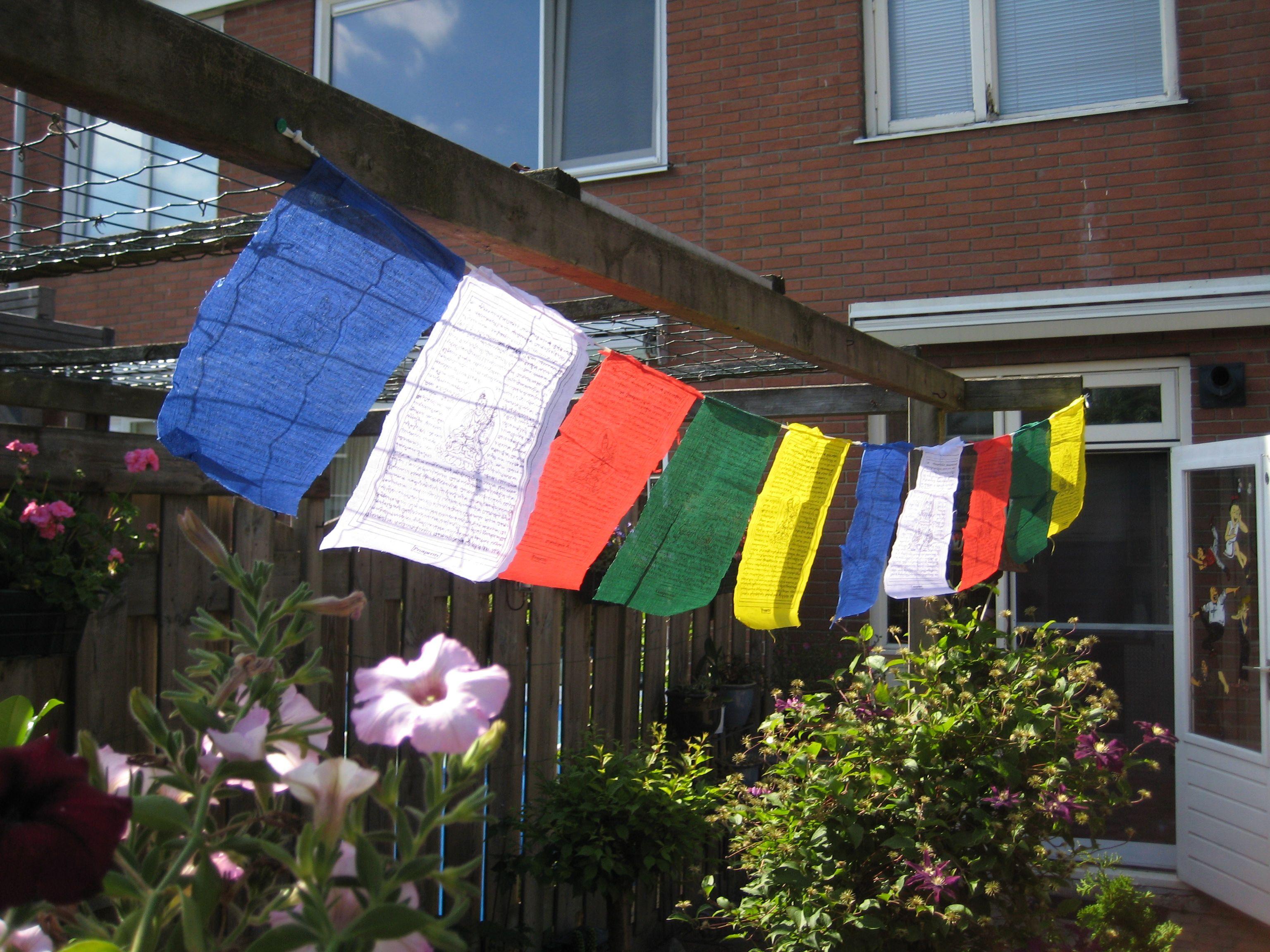 tibetaanse gebedsvlaggetjes