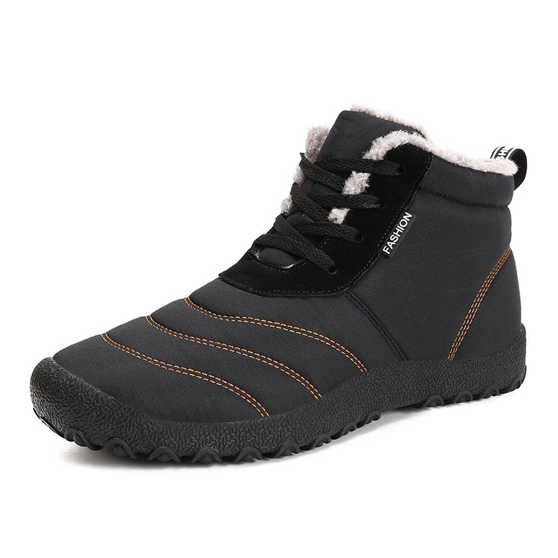 61ec9277d Women's Shoes, Outdoor, Snow Boots, Women Men Fur Lined Slip On Snow Boots  Outdoor Waterproof Winter Boots - Black B - CI1882GA4D6 #WomensShoes  #Outdoor ...