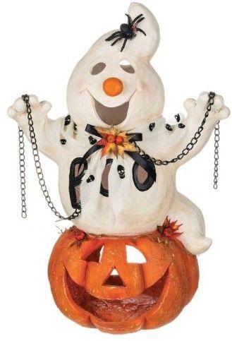 ad Sullivans \u0027Ghost  Jack O\u0027 Lantern\u0027 Halloween Decoration, Fall - fun homemade halloween decorations