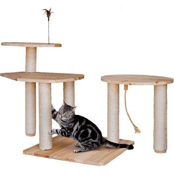 Petco Premium Playscape Starter Kit Cat Tree A Kitty Scratching Kingdom Petco Cat Tree Cat Furniture