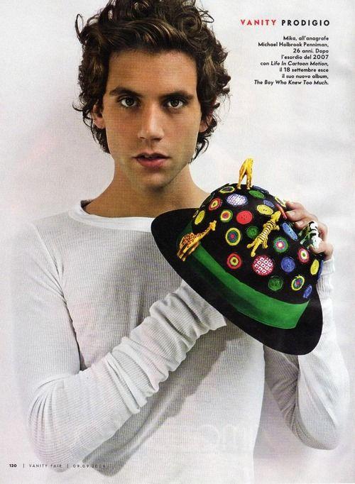 Mika for Vanity Fair