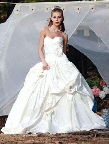 Augusta Jones - Sweetheart Ball Gown in Silk Taffeta. Love this ...