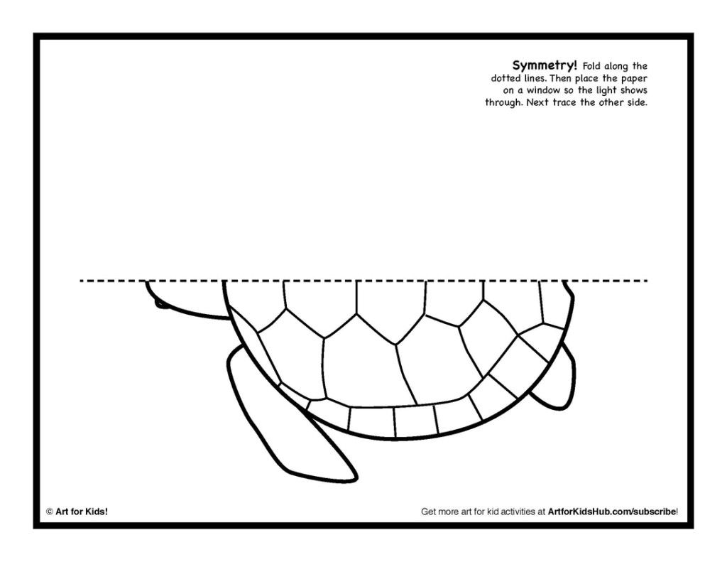 Free Printable Turtle Coloring Pages