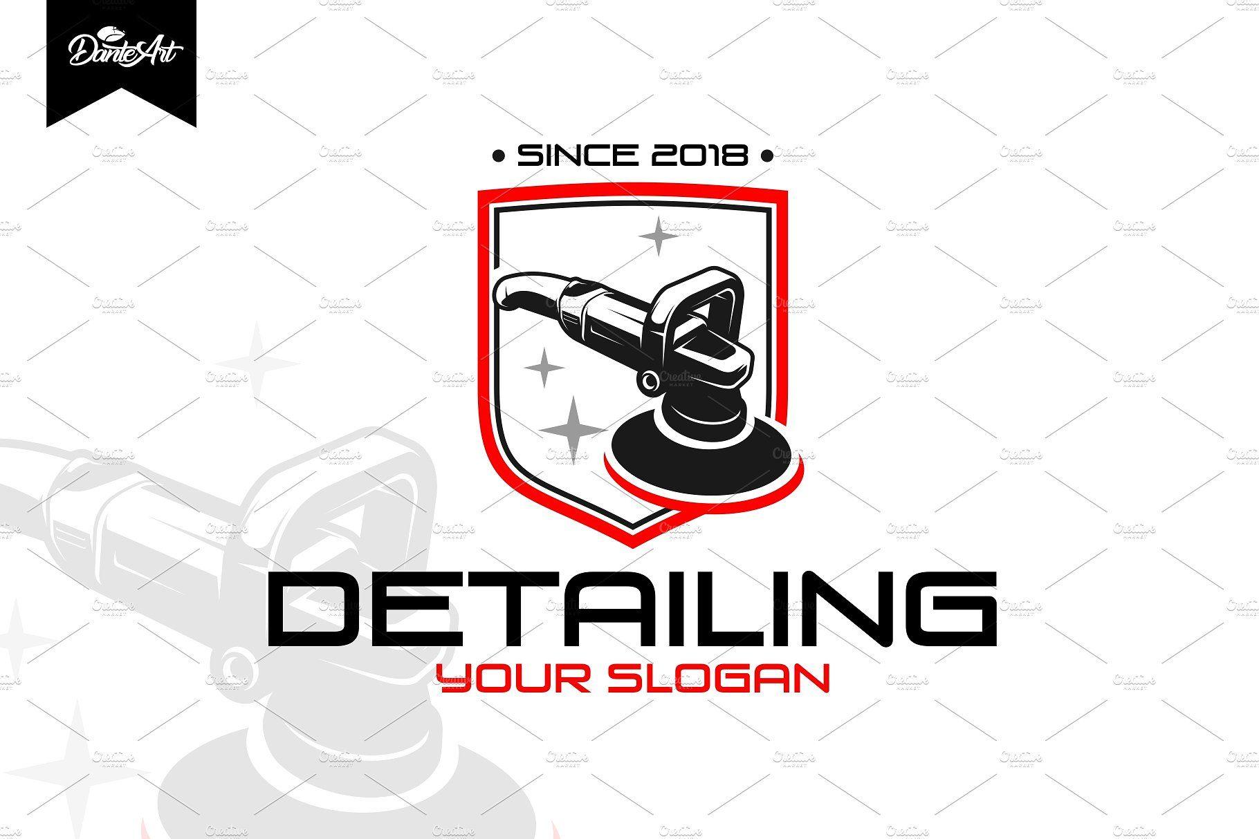 Detailing car logo Logotipo automotivo, Lavagem de carro