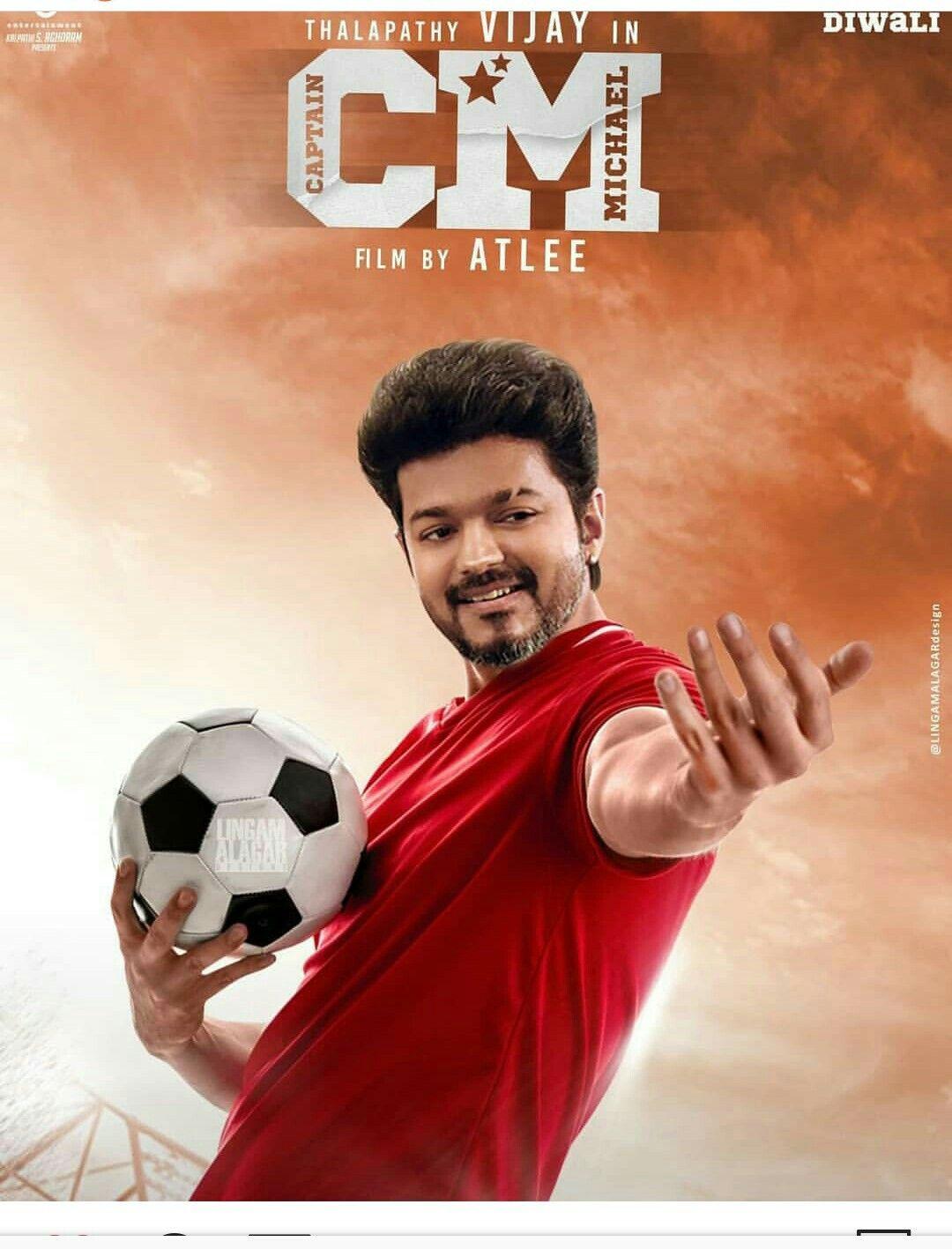 Thalapathy vijay 63 movie New poster