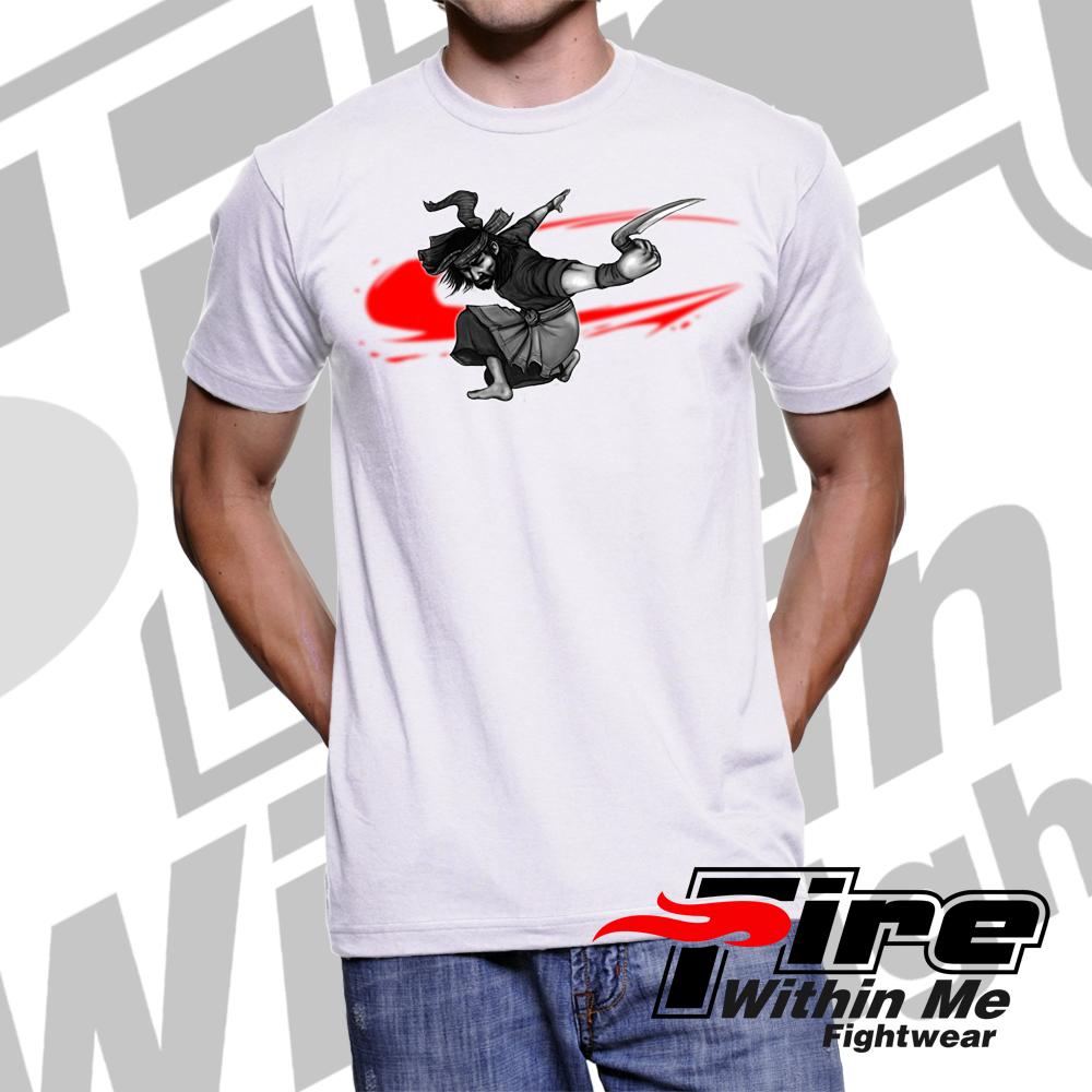 Pencak Silat Karambit Warrior T Shirt White Buy Now On Ebay Worldwide Shipping Http Www Ebay Co Uk Itm Pencak Silat Karambit Warrior White Cotton T Shir