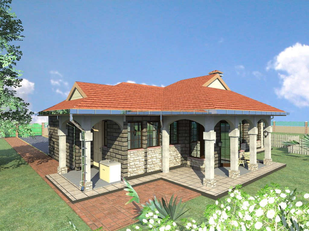 A Plan Of Latest Timber Houses In Kenya
