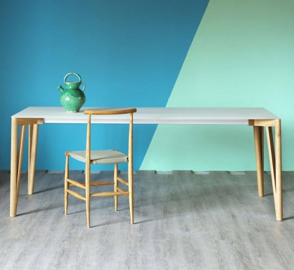 The Decapo Dining Table Was Designed By Francesco Beghetto For Miniforms This Elegant Has An Extension System Which Practically Always Keeps