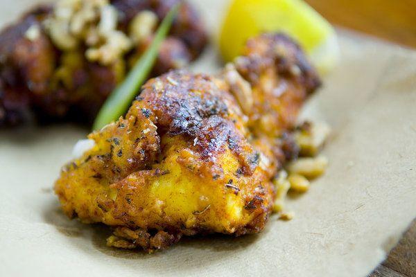 Persian Fried Chicken with Yogurt Marinate