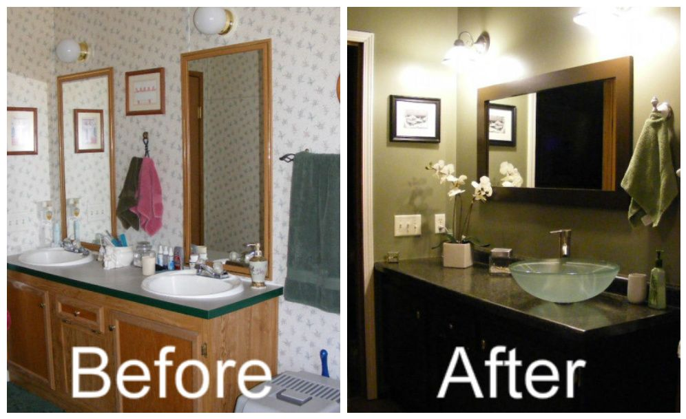 my bathroom remodel for the home mobile home bathrooms rh pinterest com