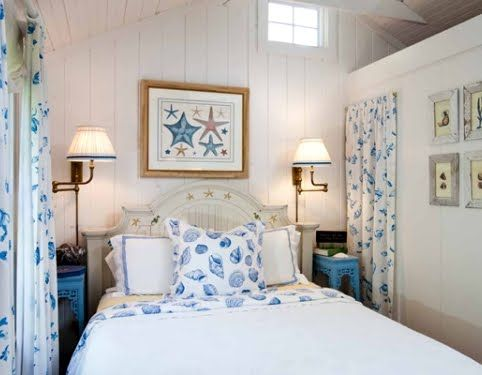 9 Cozy Coastal Beach Cottage Bedroom Design Ideas #beachcottageideas