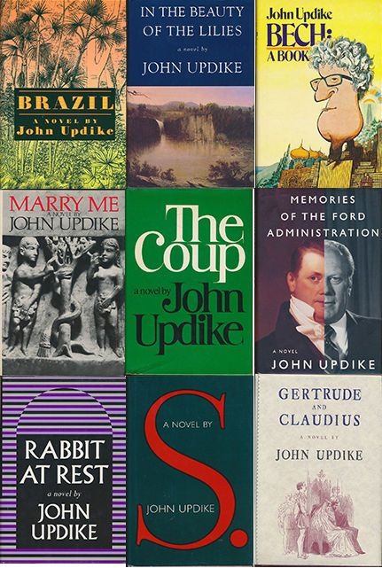 John Updike Collection Lot 9 Books ALL FIRST EDITIONS