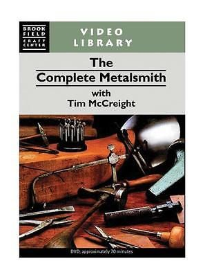 Casting Tools 179254: The Complete Metalsmith Dvd Tim Mccreight Jewelry Metal Casting Metalsmithing BUY IT NOW ONLY: $36.0