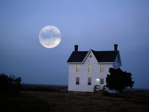Photo Tip: The best time to take a picture of the moon is just as it rises, when it's big but not too bright. | National Geographic