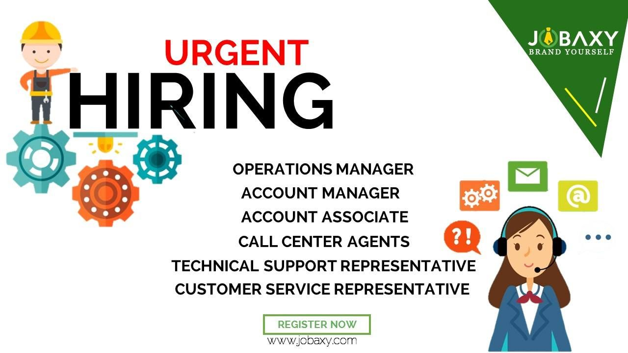 Hurry up limited slots only apply now and get hired to