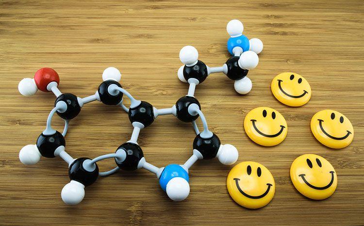 La serotonina, también conocida como 5-hidroxitriptamina, es un neurotransmisor que se produce a partir de la conversión química del triptófano