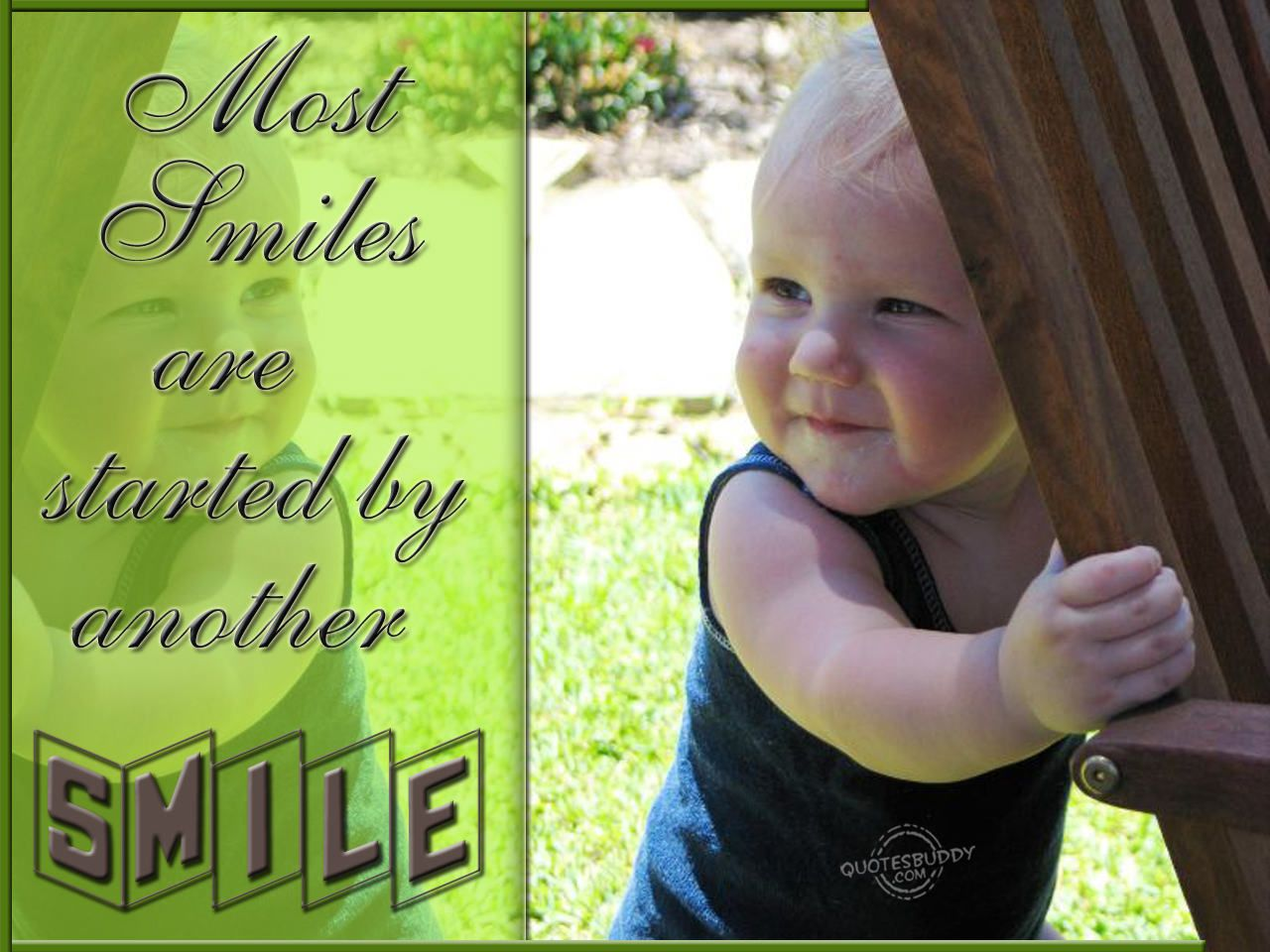 most smiles are started by another smile | collection board ... for Smile Quotes And Sayings For Girls  113lpg