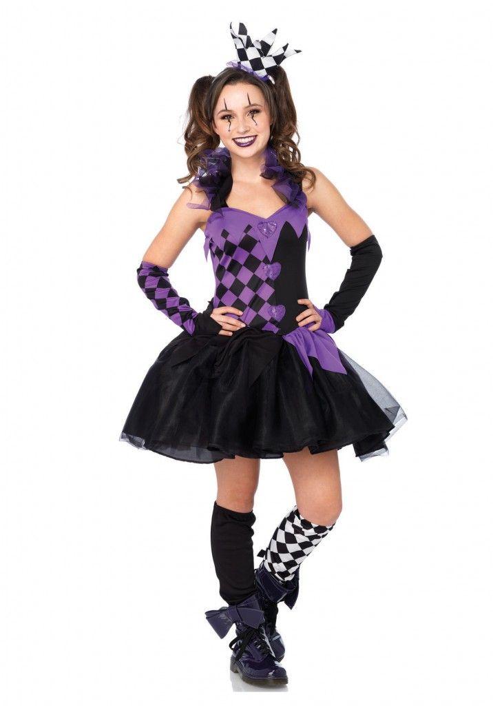 Darling Jester Teen Costume Show Choir Costume Ideas Pinterest - halloween teen costume ideas