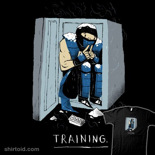 training. #freezer #gaming #louisroskosch #mortalkombat #subzero #videogame