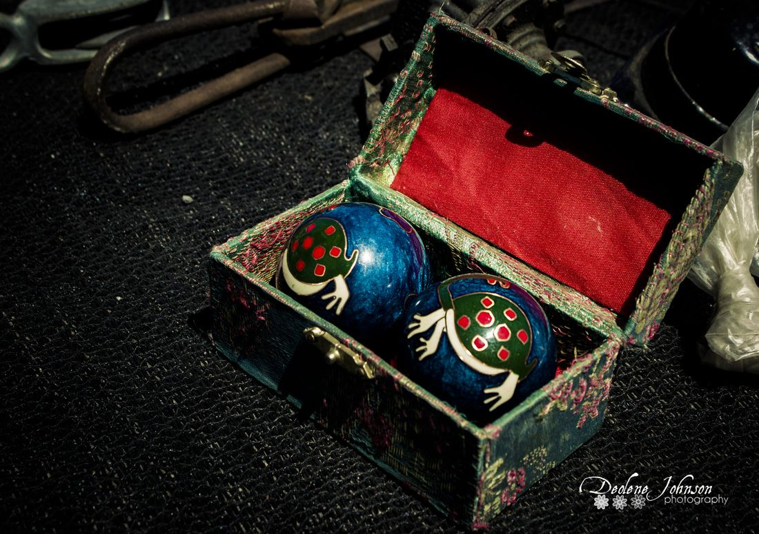 Baoding balls,  also known as Chinese meditation ball or numerous other.  Beautiful and useful...   Health, harmony, musical, Chinese, Baoding balls.