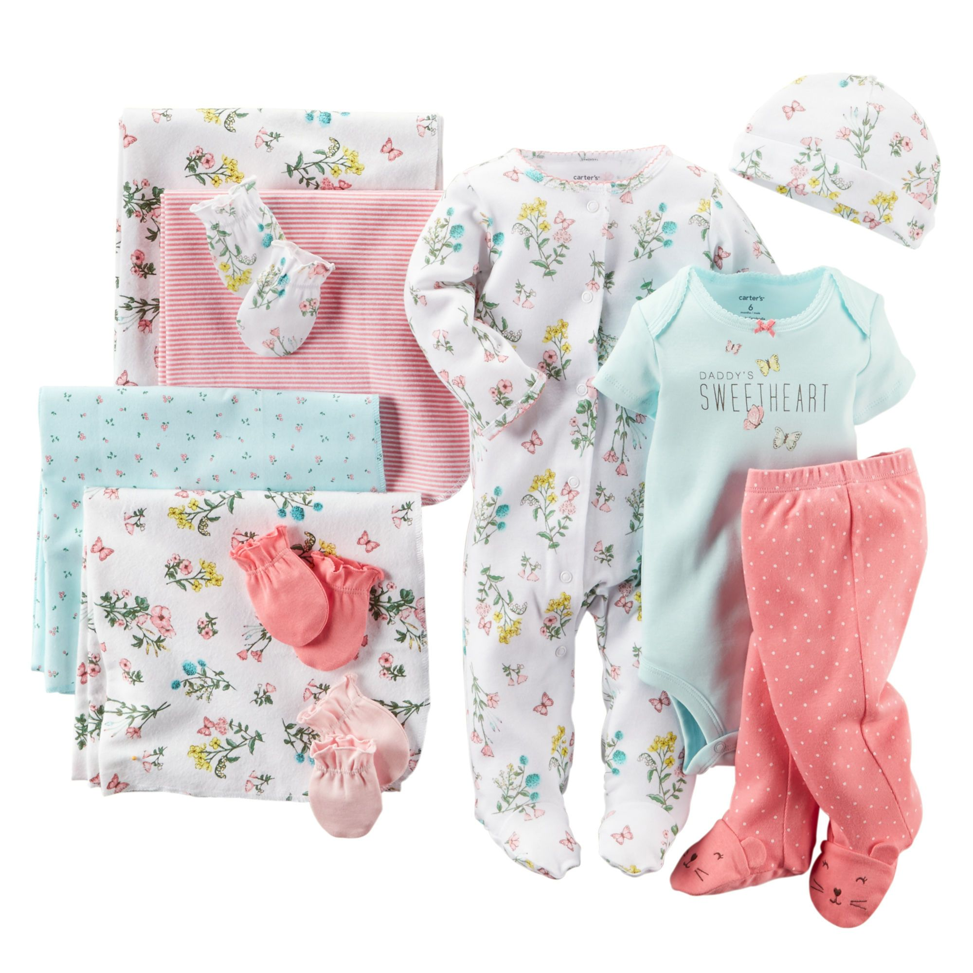 Little Flowers 10-Piece Gift Set