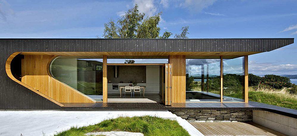 Hytte Dalene, vivienda cabina familiar en madera, Østhusvik, Isla Rennesøy, Noruega por ARKITEKT TOMMIE WILHELMSEN http://www.jardindeplantas.com/portada/2016-03-14