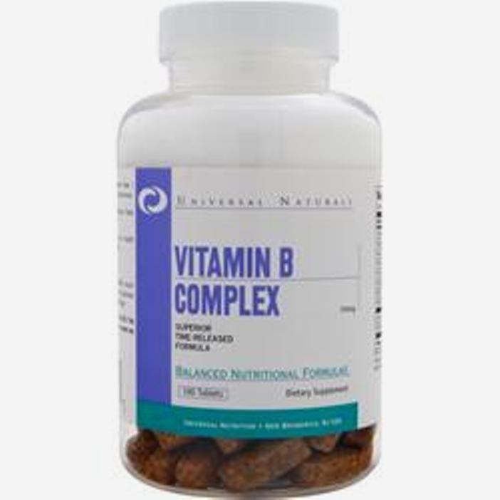 Universal Nutrition Vitamin B Complex 100 Tabs Universal Nutrition Vitamin B Complex Vitamin B