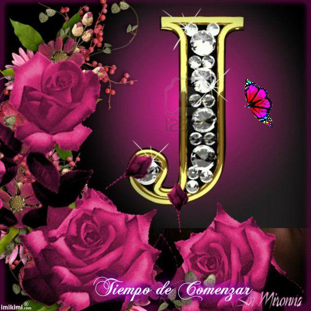 J Alphabet Wallpaper In Heart I Love You | AB...