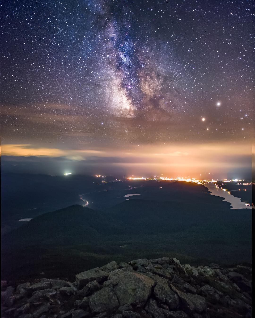 Econo lodge hotel in lake placid ny is near olympic sports complex, mirror lake, and lake placid village. Another Photo From On Top Of Whiteface Mountain In Lake Placid New York What A Breathtaking View Of Our Milky Wa Whiteface Mountain Night Sky Stars Milky Way